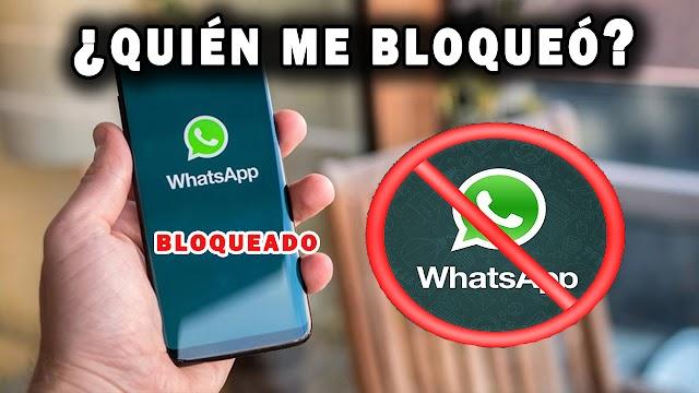 Así puedes saber si te bloquearon en WhatsApp