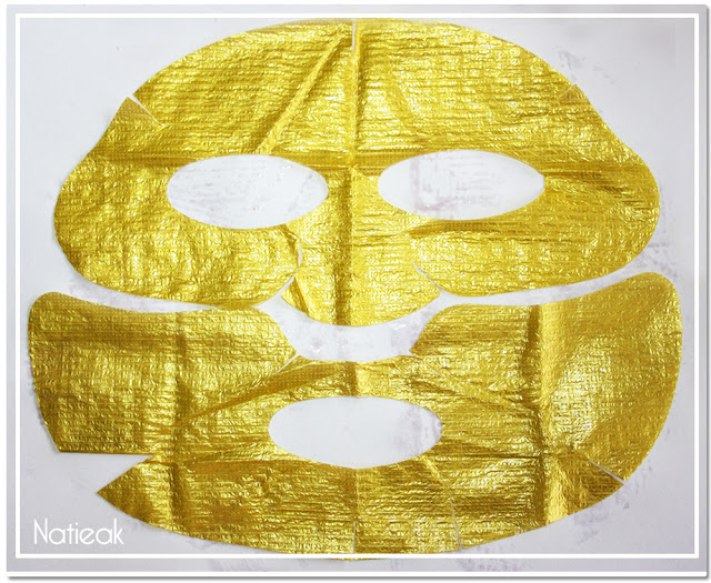 aspect du masque Wrap d'or de Qiriness