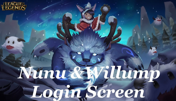 Nunu & Willump Login Screen - League of Legends | LoL
