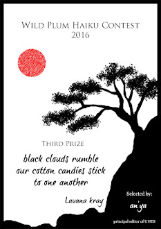 Wild Plum - haiku journal