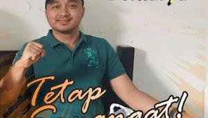 Wakil Rakyat Tebo Khalis Mustiko SH Memberikan Ucapan Selamat Kepada Ketua Koni Tebo Yang Baru
