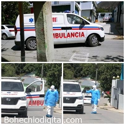 Elías Piña: Trasladan 4 pacientes síntomas sospechosos Covid-19, hospital San Juan-VIDEO