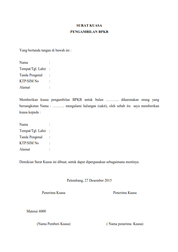 Image Result For Application Letter Contoh