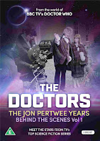 Jon Pertwee as The Doctor and Katy Manning as Jo Grant
