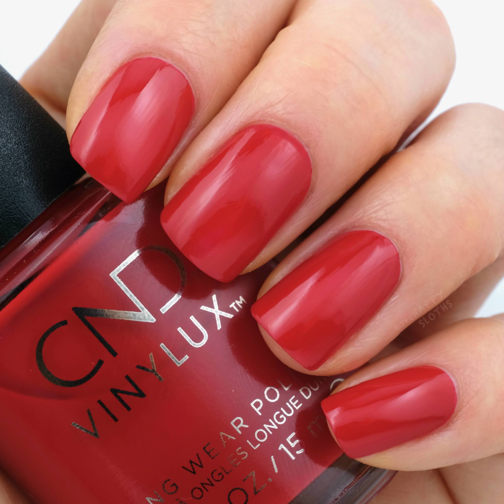 CND | Holiday 2020 Cocktail Couture Collection | Devil Red: Review and Swatches