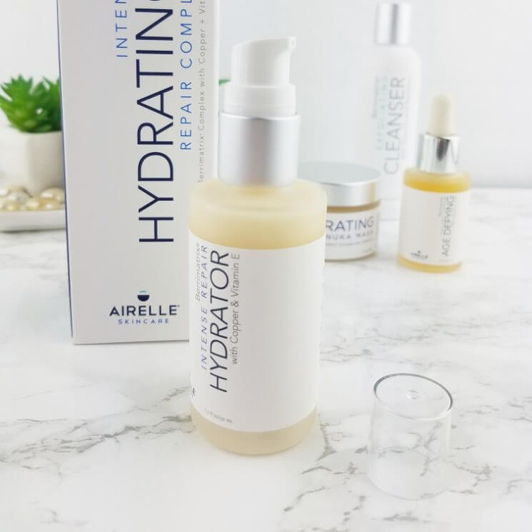 How I Use the Airelle Skin Care Intense Hydrator to Meet the Needs of My Very Dry Skin!  3