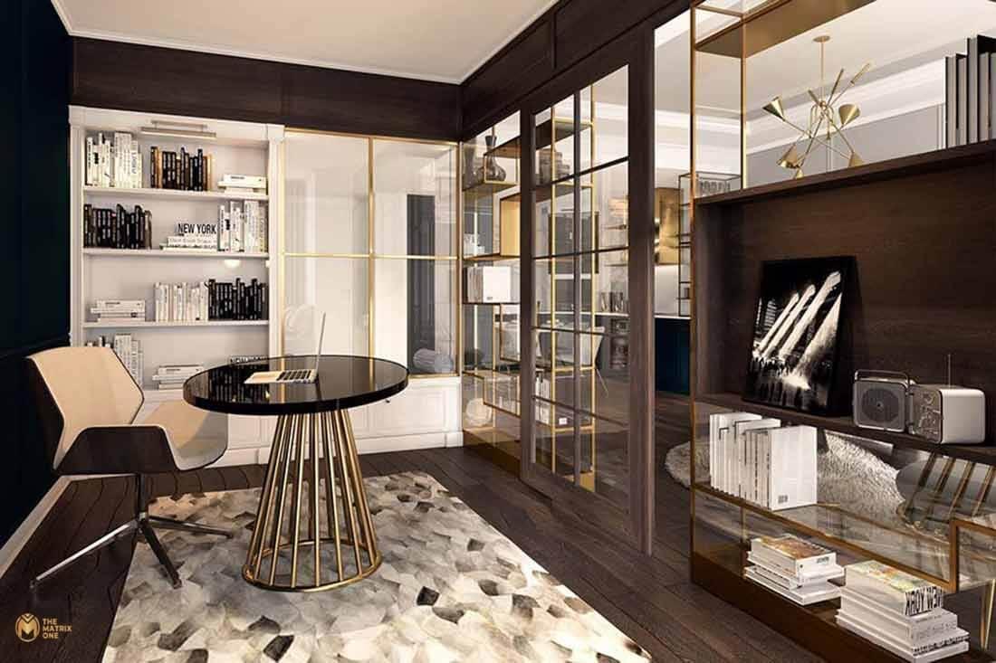 Thiết kế nội thất chung cư Matrix One