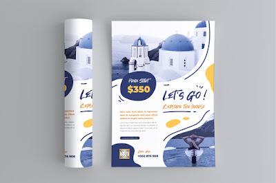 Contoh brosur wisata