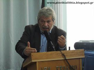 ΒΙΝΤΕΟ - Χάρης Τζαμακλής, συνέλευση Καλλιθέα.