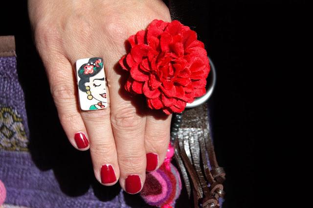 Frida Kahlo Ring Schmuck
