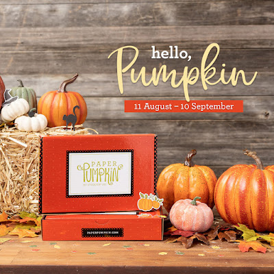 First Peek at Hello Pumpkin September 2020 Paper Pumpkin Kit
