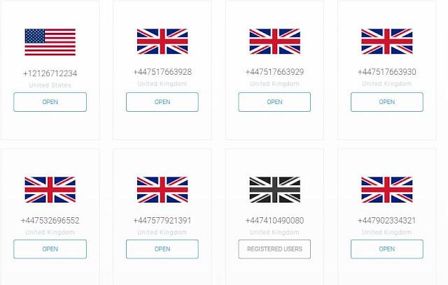 مواقع تقدم لك أرقام أمريكية مجانا لاستقبال الرسائل - اون تك 190