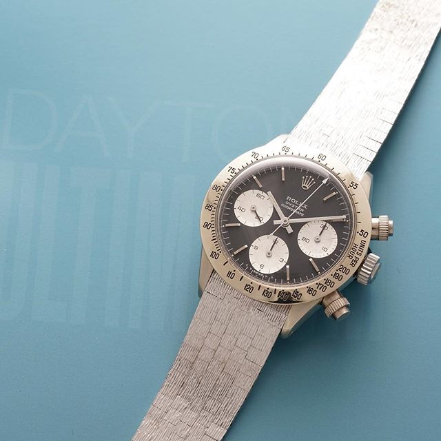 "The white gold Rolex Daytona reference 6265 known as ""The Unicorn"""