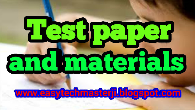 TEST PAPERS & OTHER MATERIALS FOR 3 TO 6 AGED TODDLERS