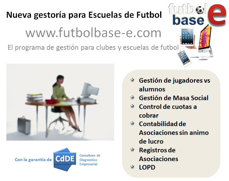 Asesoría Administrativa para clubes y escuelas de futbol