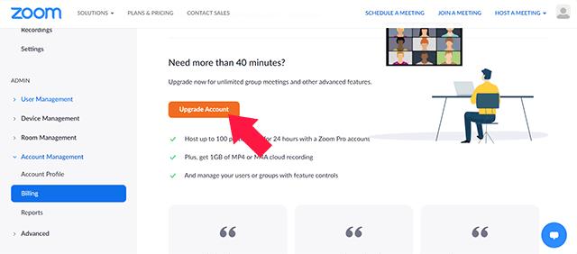 Cara Membeli Zoom Premium