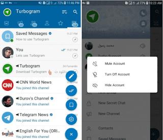 Turbogram (Telegram MOD) Apk v6.0.2 (Ads Free)