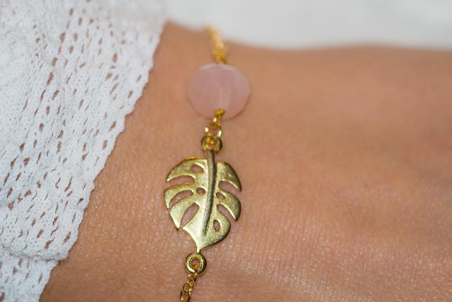 aunaturelle - bracelet - monstera