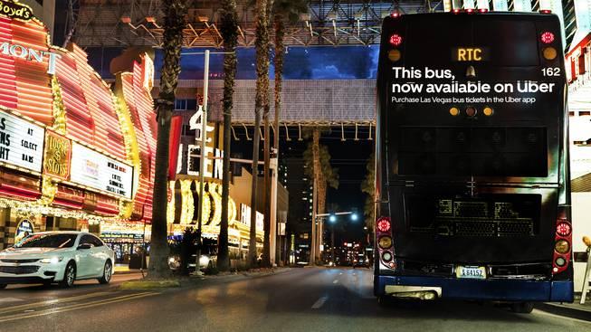 Mundo: Uber passa a vender passagens de ônibus e trem em Las Vegas