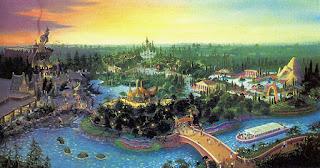 Never Built Disney World Concept Art