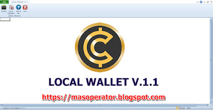 Aplikasi DataBase Berbasis Excel : Local Wallet V.1.1