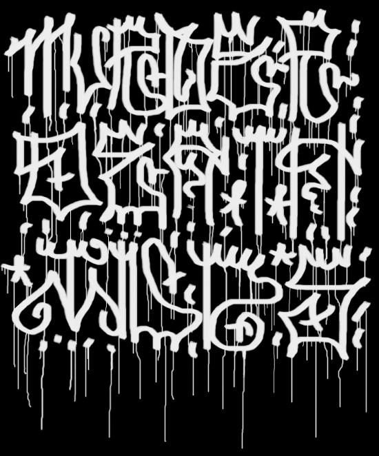 Graffiti Collection Ideas Graffiti Alphabet Explanation