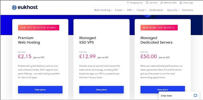 Best Web Hosting In UK 2020 | eUKhost