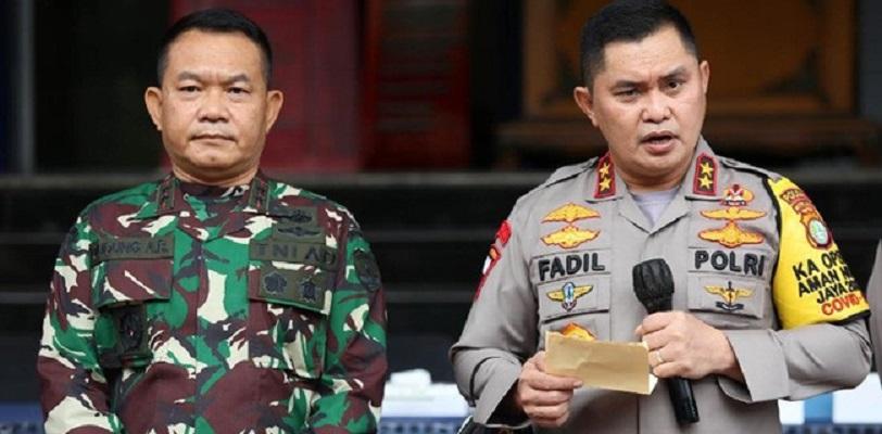 Kapolda Irjen Fadil Imran dan Pangdam Jaya Mayjen TNI Dudung Abdurachman/Net