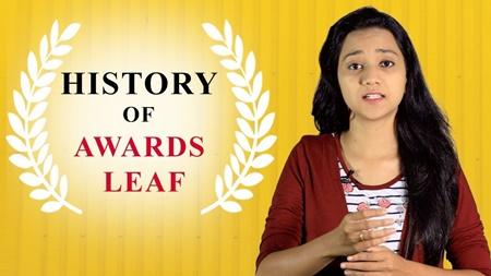 History of Awards Leaf