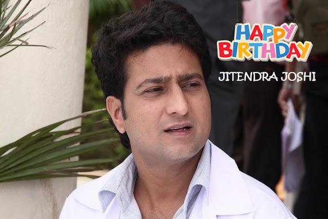 A Very Happy Birthday To Actor Jitendra Joshi