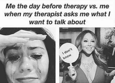 meme about psychotherapy funny