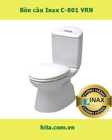 Giá - Đặc điểm - tính năng bồn cầu Inax C-801 VRN