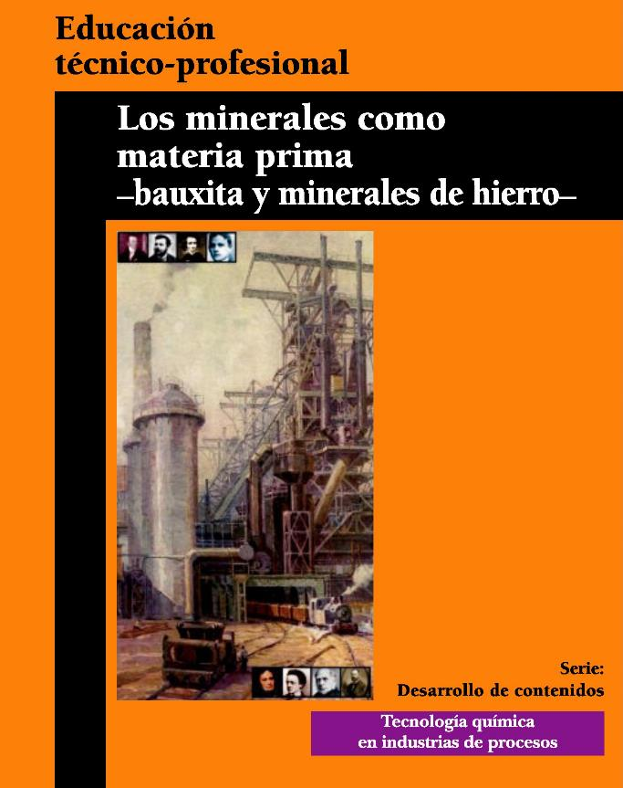 Los minerales como materia prima -bauxita y minerales de hierro-