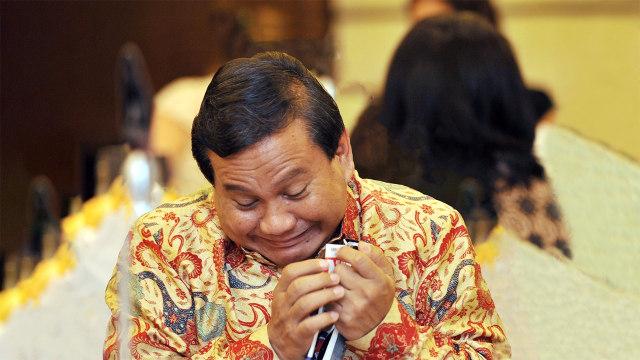 Kutip Pesan Bung Tomo tapi Tak Ikut Jemput Habib Rizieq, Prabowo Disindir