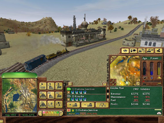 Railroad Tycoon 3 ScreenShot 01