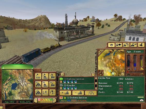 Railroad Tycoon 3 ScreenShot 01
