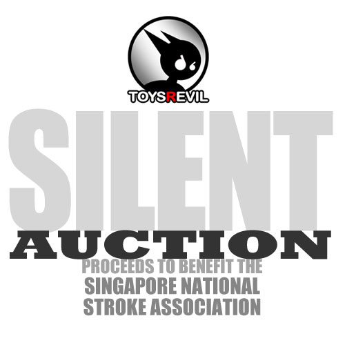 Interested parties are to email toysreviler [at] gmail.com with your  desired bid price. Do remember to add in the subject title of the email