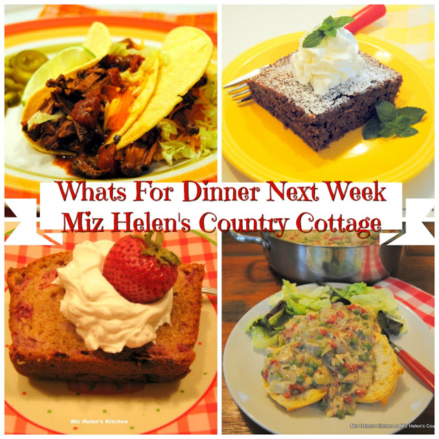 Whats For Dinner Next Week,6-7-20 at Miz Helen's Country Cottage
