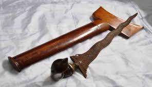 Senjata tradisional Sampari (Keris)