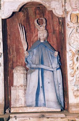 capilla, Santa Bárbara, Barca, Ibias