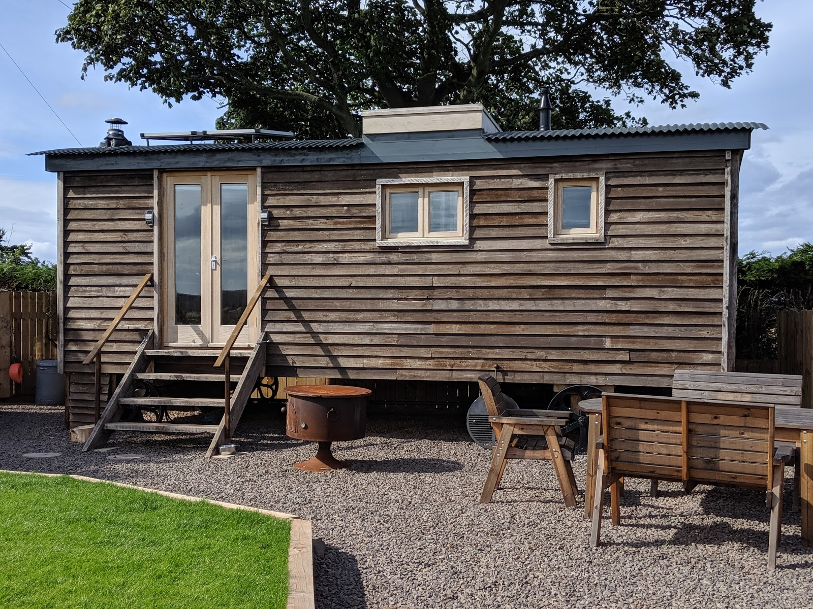 Shepherd's Retreats Beadnell Review - Dog-friendly Glamping in Northumberland