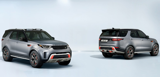 Land Rover Discovery SVX 525 hp and all-terrain drive