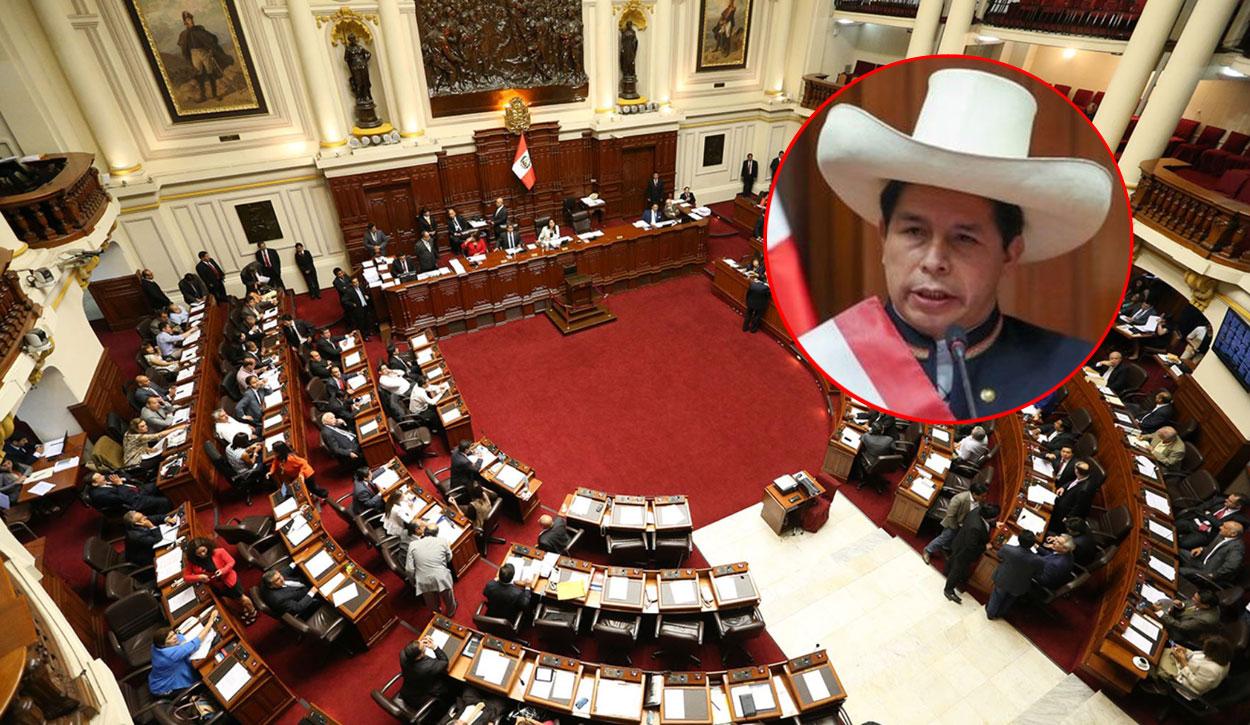 Congreso debatirá la creación de una comisión investigadora por la presunta vulneración de transparencia de Pedro Castillo.