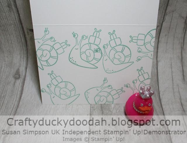 Craftyduckydoodah, Snailed It, Stampin' Up, Stamping INKspirations,