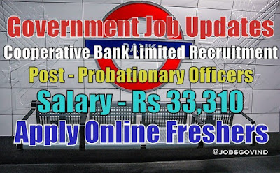 Cooperative Bank Limited Recruitment 2020