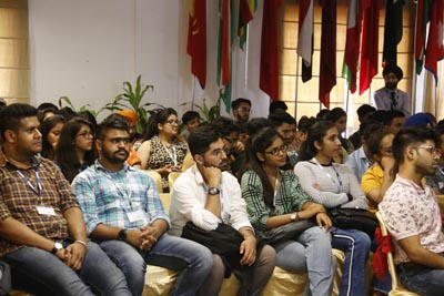 Students during Startup Master Class at PCTE Group
