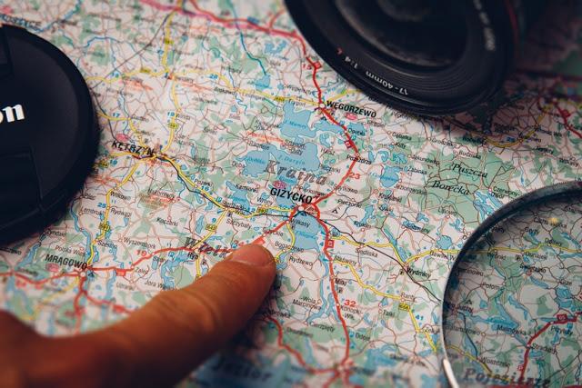 Mapa e câmera