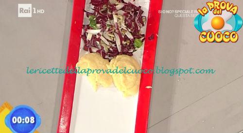 Tagliata di petto d'anatra al cognac con insalatina di radicchio ricetta Ricchebono da Prova del Cuoco