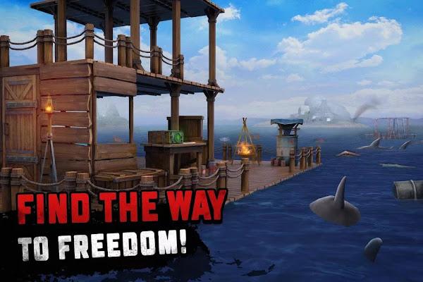 Raft Survival: Ocean Nomad (MOD, Menu/Free Craft/Money)