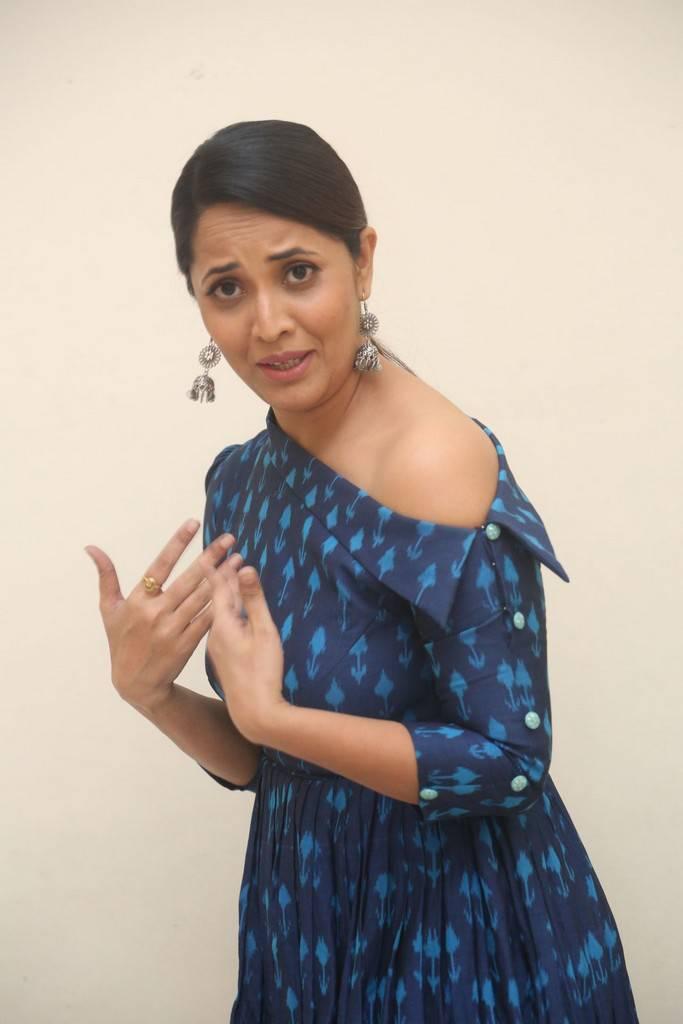 Anasuya At Jai Lava Kusa Movie Theatrical Trailer Launch Stills